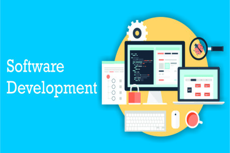 software development cycle, wallpaper for software developer, software logos