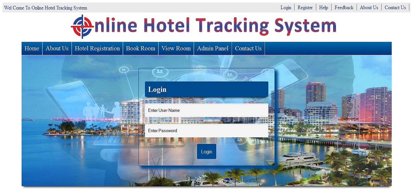hotel tracking portal